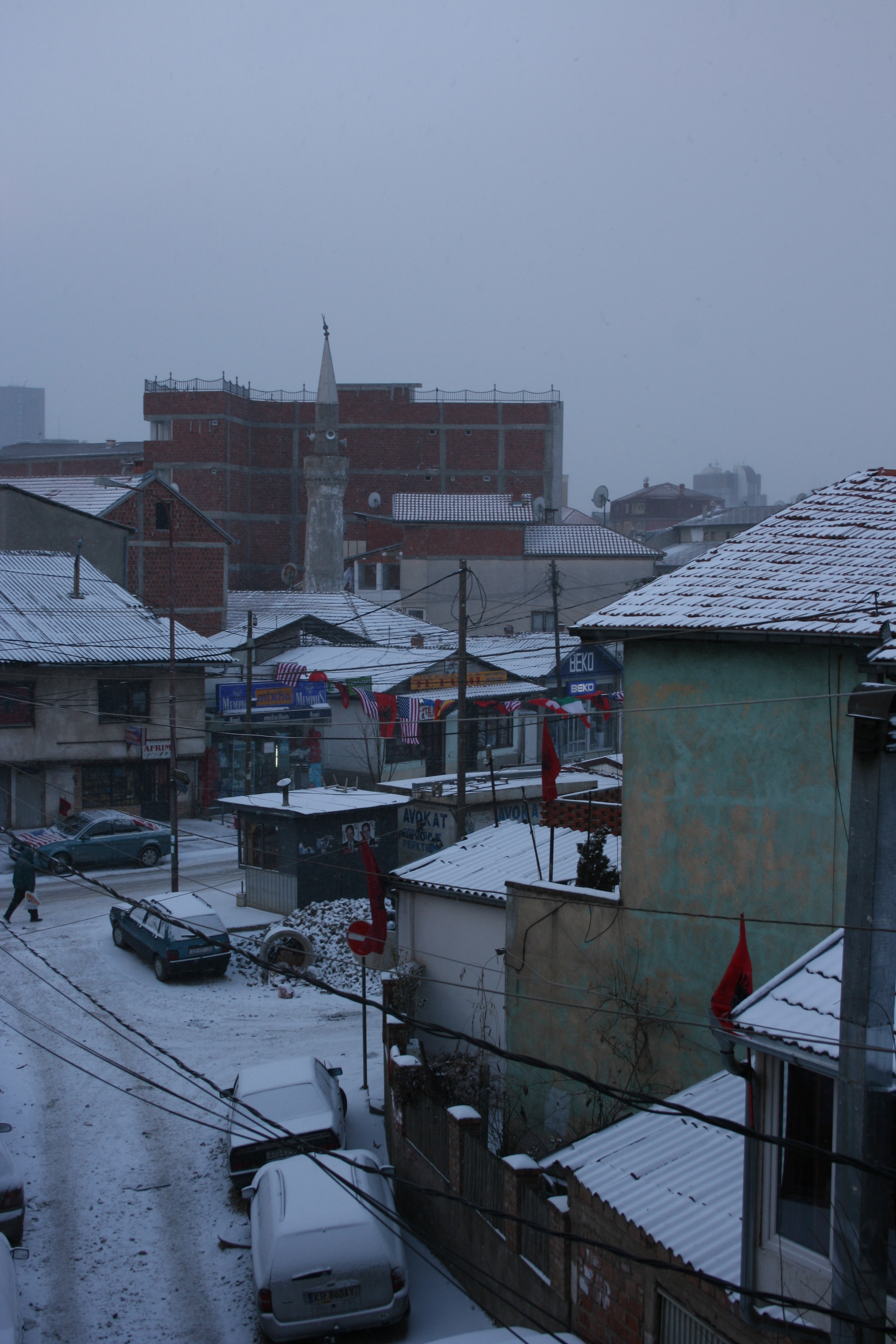 View from my hotel room, February 17, 2008