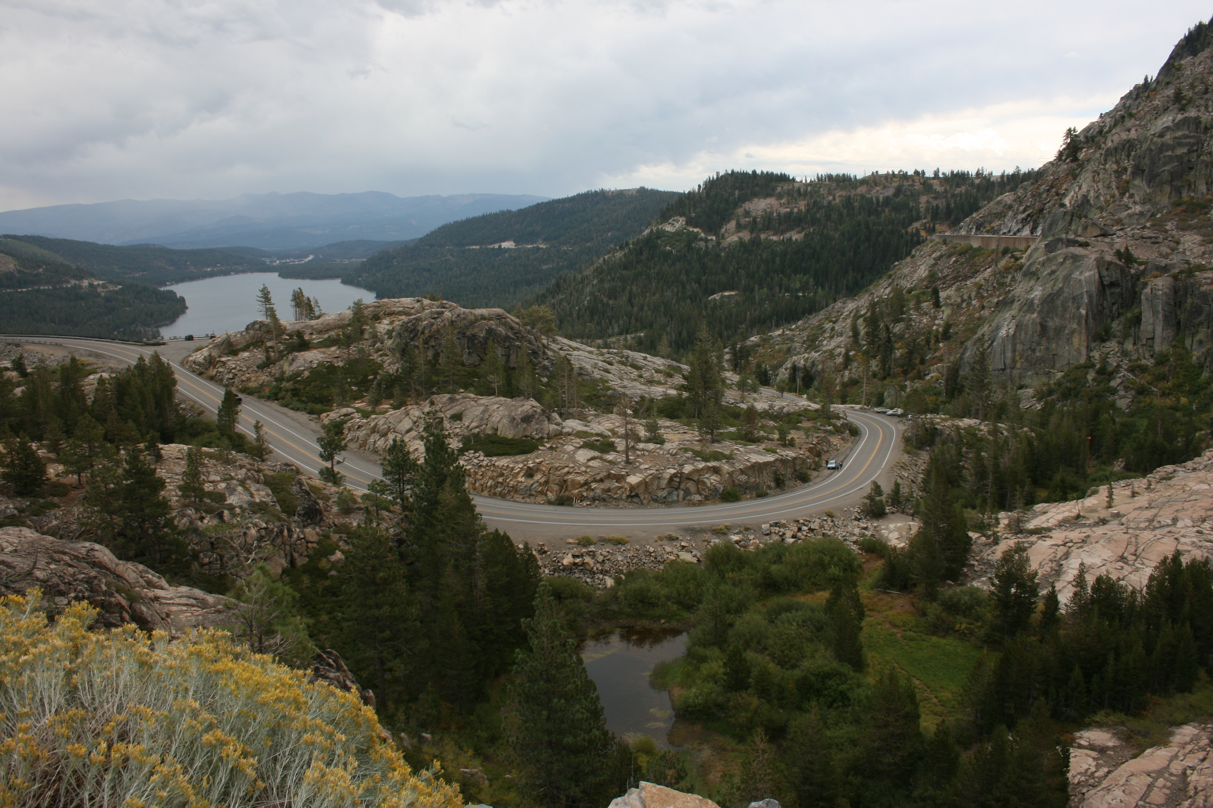 Donner Summit, the old U.S. 40