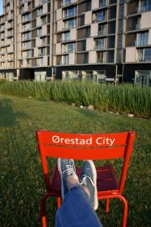 Orestad City Copenhagen Ride. Travel. Live