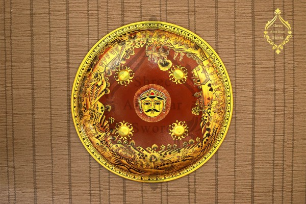 shield with painting