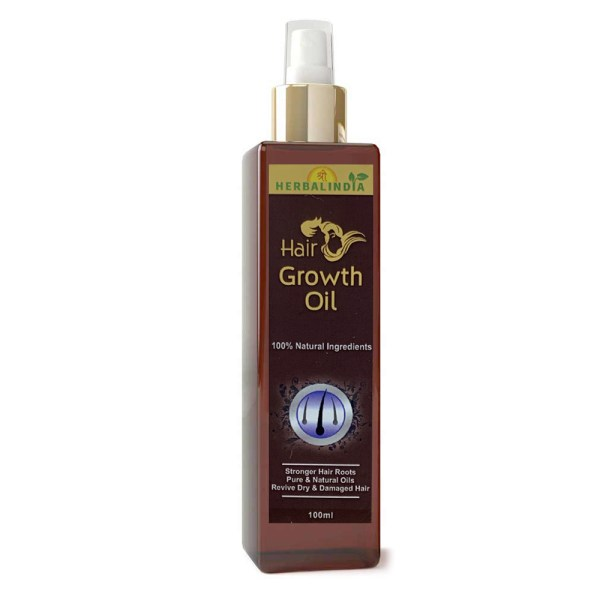 Shree Herbal India Hair Growth Oil 100% Natural Ingredient Hair Oil  (100 ml)