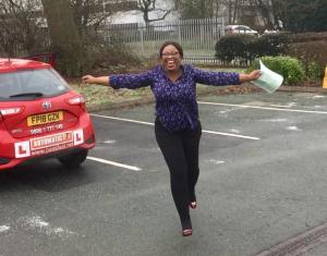intensive driving course shrewsbury success