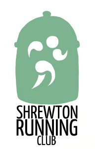 shrewton running logo.