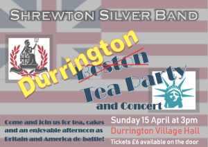 Shrewton Silver Band Tea Party @ Durrington Village Hall | Durrington | England | United Kingdom