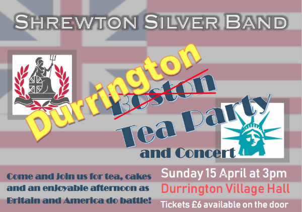 shrewton silver band tea party advert