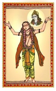 Bhakthi Yoga, the attainment of Divinity through worship.