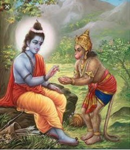 Hanumanji's Devotion to Lord Rama