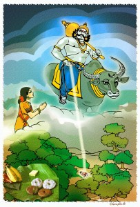 STORY OF SATYAVAN and SAVITRI
