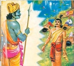 Yaksha Prashna (Yaksha - Yudhisthira Samvada from The Mahabharata)