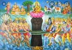 THE CHURNING OF THE OCEAN (Samudra Manthan) – From the Bhagavata Purana