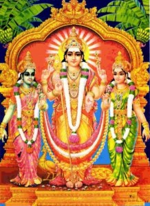 The Divine Weddings of Lord  Muruga