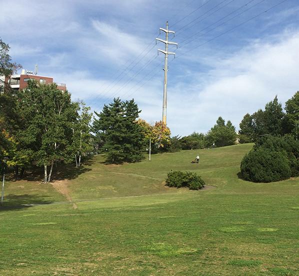 水曜どうでしょうの聖地「平岸高台公園」
