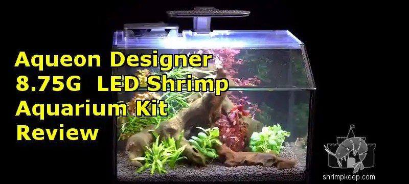 Aqueon 8.75 Gallon Designer LED Shrimp Aquarium Kit Review by Shrimp Keep