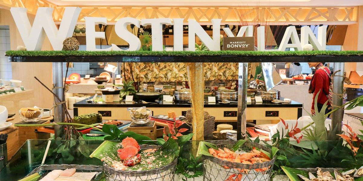 宜蘭威斯汀溫泉度假酒店超越五星!房內溫泉自助餐很棒還有深夜驚喜
