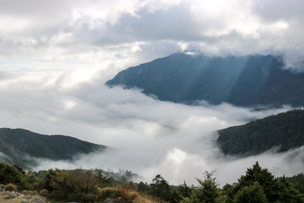 冬天合歡山天氣 強風難度合歡北峰與石門山 真心要有所準備