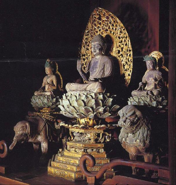 奈良県 興福寺 文殊菩薩