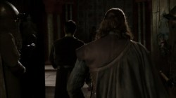 Sean Bean cape back shoulders images photos Game of Thrones Eddard Stark