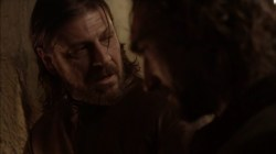 Sean Bean Eddard Stark Game of Thrones Joseph Mawle Benjen Stark screencaps images