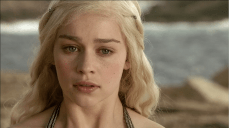 Daenerys Targaryen Emilia Clarke white blond Game of Thrones screencaps pictures