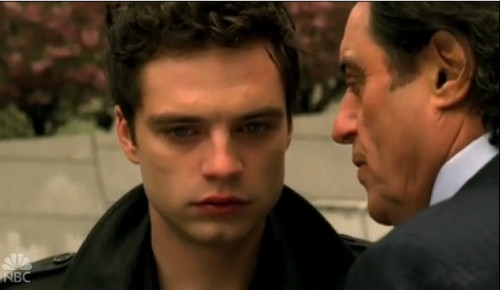 Kings Prince Jack Sebastian Stan King Silas Ian McShane father gay son Goliath screencaps 323