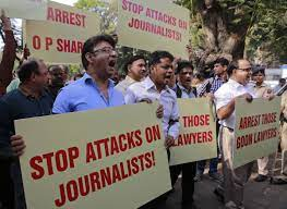 misbehaving with journalist a punishable offence 50000 penality allahabad high court