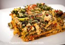 Low Calorie Vegetable Lasagna
