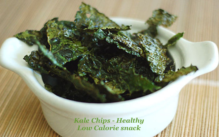 Kale Chip - Low Calorie Healty Snack