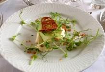 Tiny dinner salad