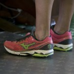 Wendy Davis's pink tennis shoes