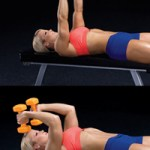 Dumbbell Lying Triceps Workout