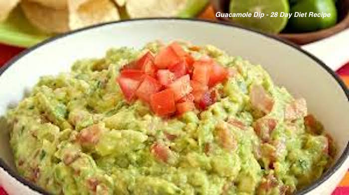 Guacamole Dip 28 Day Diet Recipe