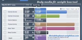 Bodymedia Fit Dieting tool
