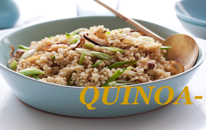 Quinoa with Sauteed Veggies