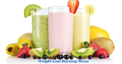 Weight Loss Burning Menu