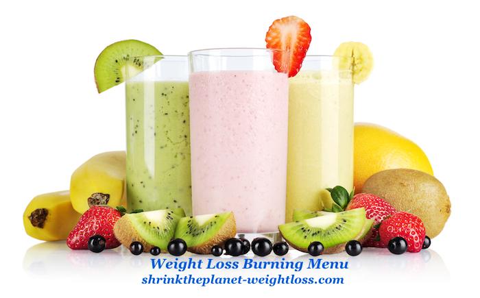 Weight Loss Burning Menu
