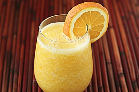 Healthy Orange Smoothie