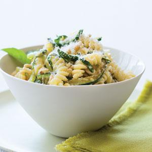 Pasta Fusilli Chicken Zucchini Pine Nuts