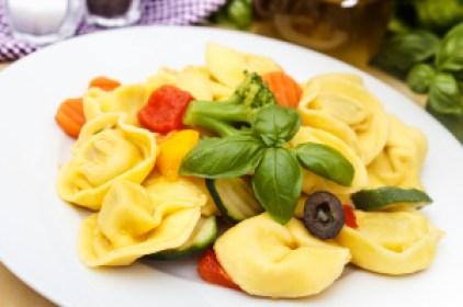Diet Pasta Tortellini Meal