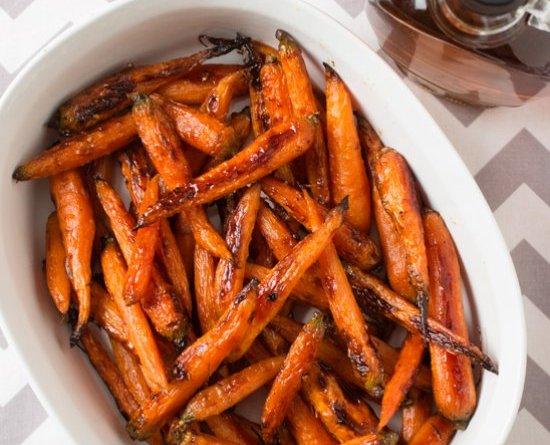Roasted Carrots Glazed