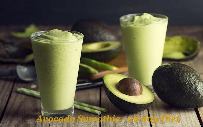 Diet Challenge Avocado Smoothie - Dr Oz