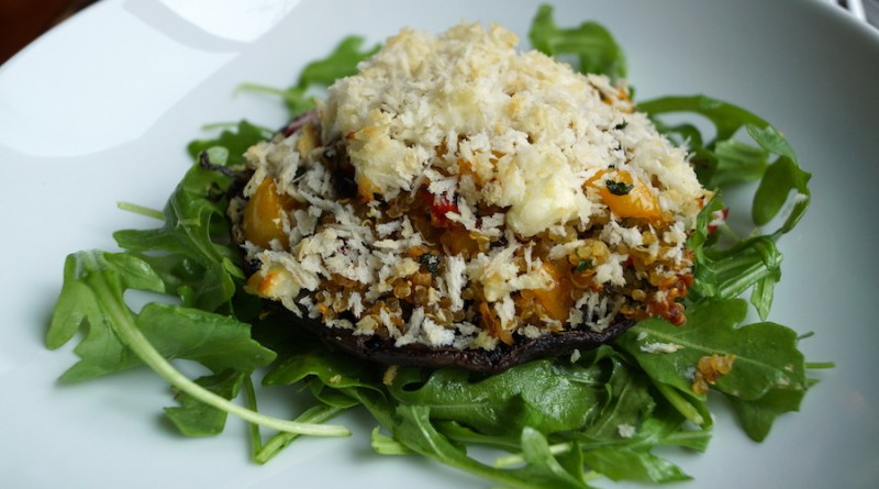 Stuffed Portobellos with Quinoa Recipes