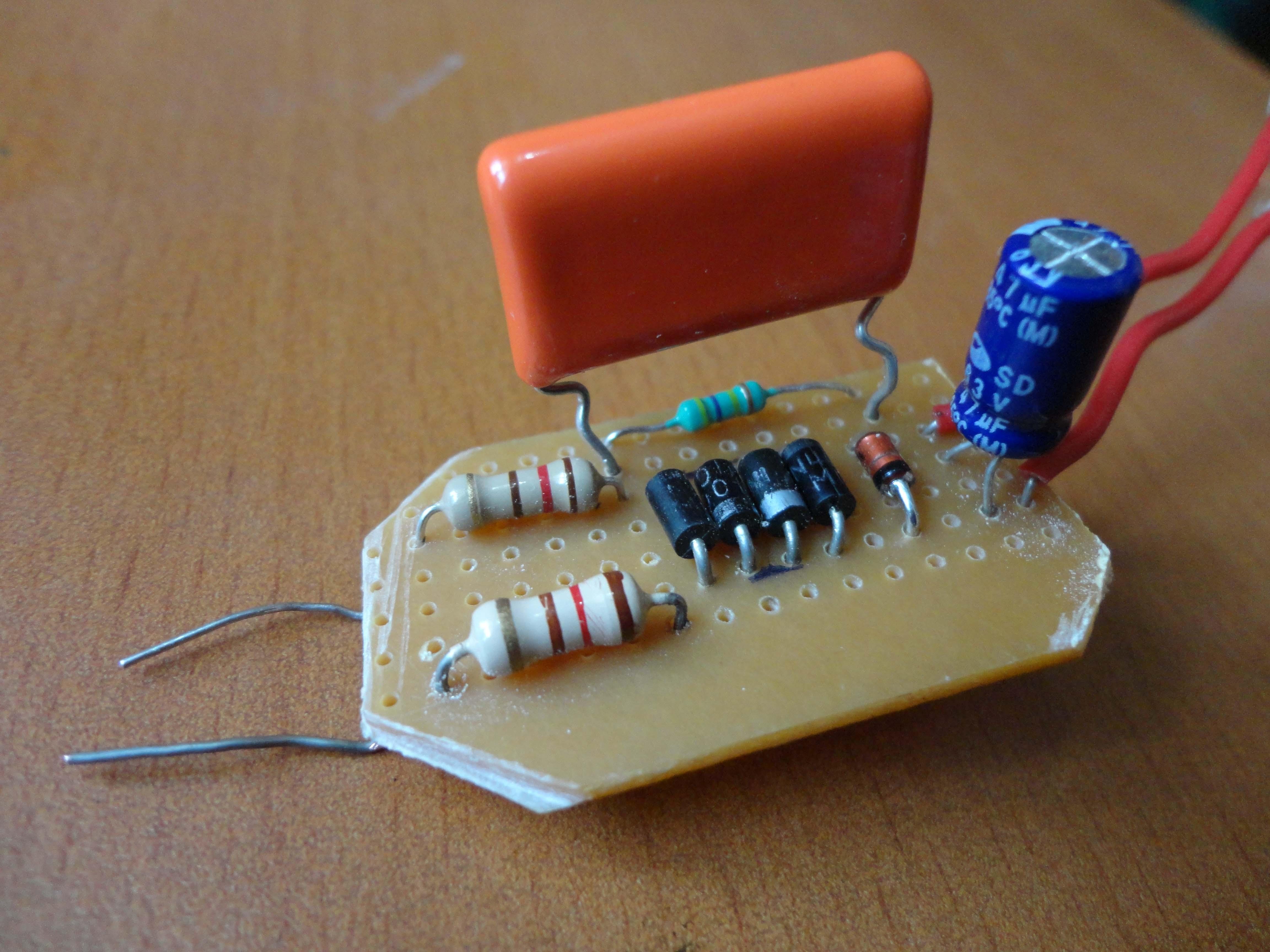 home power saver circuit diagram human vascular anatomy saving led lamp from scrap shriram spark dsc01784