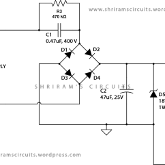 Home Power Saver Circuit Diagram 2 Stage Thermostat Wiring Saving Led Lamp From Scrap Shriram Spark