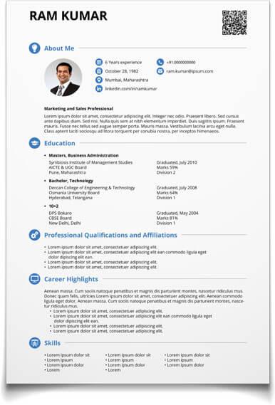 CV Maker Create Resume Now