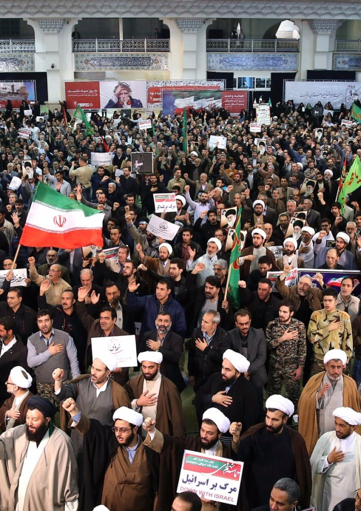 The protests in Iran