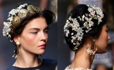 D&G ss hair and accessories