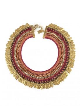 Orange Nomad necklace