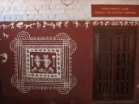 Warli Art Wall | SHROOMANTICS