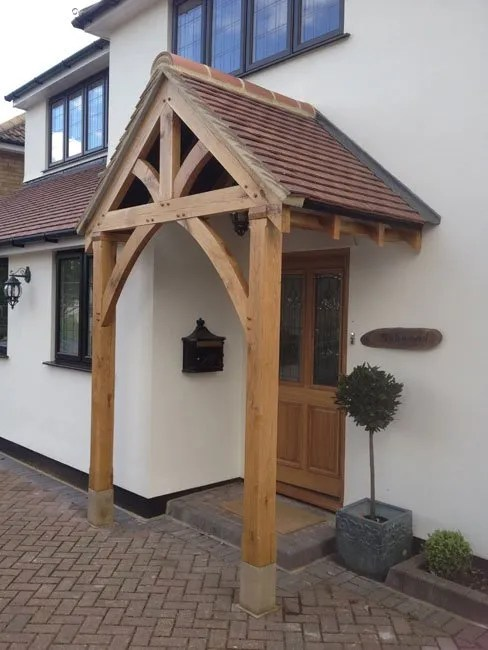 Grosvenor Oak Porch 1 Shropshire Door Canopies