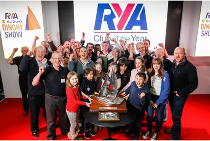 RYA Club of the Year SHSC celebration